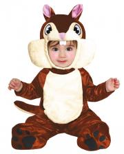 Squirrel Baby Costume