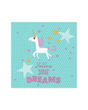 Unicorn Napkins 20 Pieces