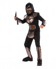 Iron Ninja Phantom Children Costume