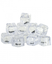 Ice Cubes with Spiders 12PCS