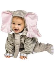 Plush Elephant Costume 6 To 12 Mon