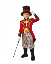 Noble Circus Director Child Costume With Hat