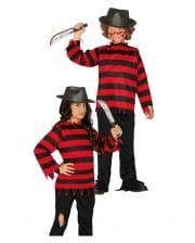 Elm Street Killer Kinderkostüm