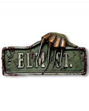 Elm Street Schild Wanddekoration