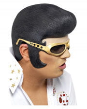 Elvis wig with front part & Glasses