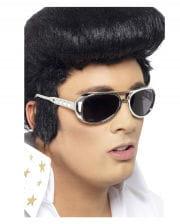 Elvis Sonnenbrille silber