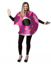 Erdbeer Donut Kostüm mit Biss