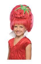 Erdbeer Kinderperücke