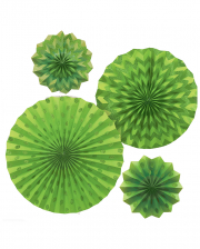 Fan Deco Set Green