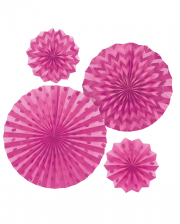 Fan Deco Set Pink