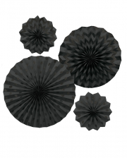 Fan Deco Set Black