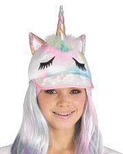 Fancy Rainbow Unicorn Cap