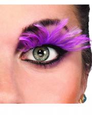 Feather Eyelashes Pink