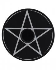 Flat Pentagram Candle Holder