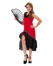 Flamenco Dancer Costume For Children