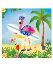 Flamingo Napkins 20 Pieces