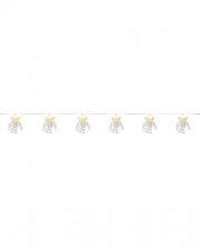 Bat Skeleton Chain Of Lights 100cm