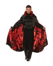 Vampire Cape With Bat Motif