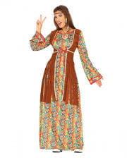 Flower Power Maxi Hippie Dress Breanna