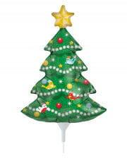Mini foil balloon Christmas