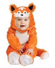 Fox baby costume