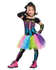 Funky Punk Skeleton Toddler Costume
