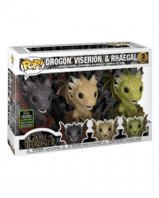 Drogon, Viserion & Rhaegal GOT Funko Pop! 3er Set