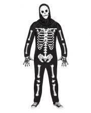 Game Over Guy Pixel Skeleton Costume