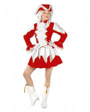 Funkenmariechen Costume Red / White