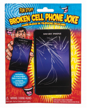 Broken Cell Phone Screen Joke Article