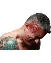 Broken head latex application