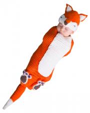 Gehäkelter Fuchs Baby Kostümsack