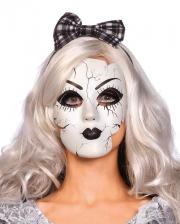 Porcelain Doll Mask With Cracks
