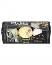 Gin & Tonic Gentleman Badebomben Set