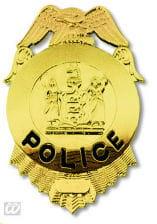 Shiny FBI Police brand
