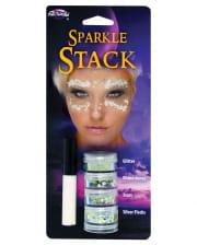 Glitter Stack Iridescent