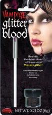 Glitter blood