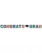 Glitzender Congrats Grad Banner
