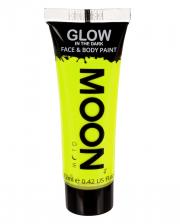 Glow in the Dark Make-up Neon Gelb
