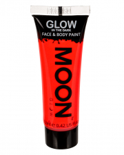 Glow In The Dark Make-up Neon Red