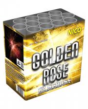 Golden Rose 13 Schuss Batteriefeuerwerk