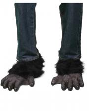 Gorilla Füße schwarz