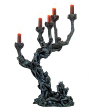 Gothic Candlestick - Tree Of Tormented Souls