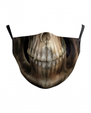 Gothic Skull Everyday Mask 2-ply With Filter Bag