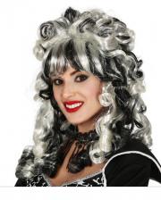 Gothic Vampire Bride Wig