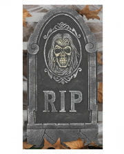 Grabstein mit Totenkopf RIP