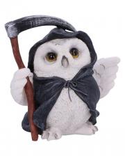 Grim Reaper Owl With Scythe 12,5cm