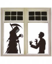Grim Reaper Window Decoration 76x120cm