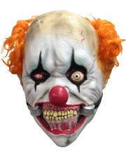 Krasse Clown-Maske mit Maulsperre