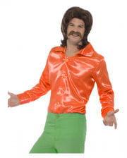 60s Disco shirt orange